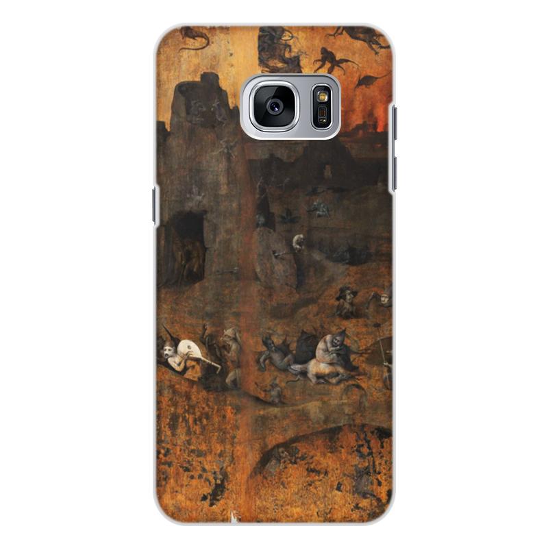 Фото - Printio Чехол для Samsung Galaxy S7 Edge, объёмная печать Ад (ад и потоп (створки алтаря иеронима босха)) printio чехол для samsung galaxy s8 plus объёмная печать ад ад и потоп створки алтаря иеронима босха