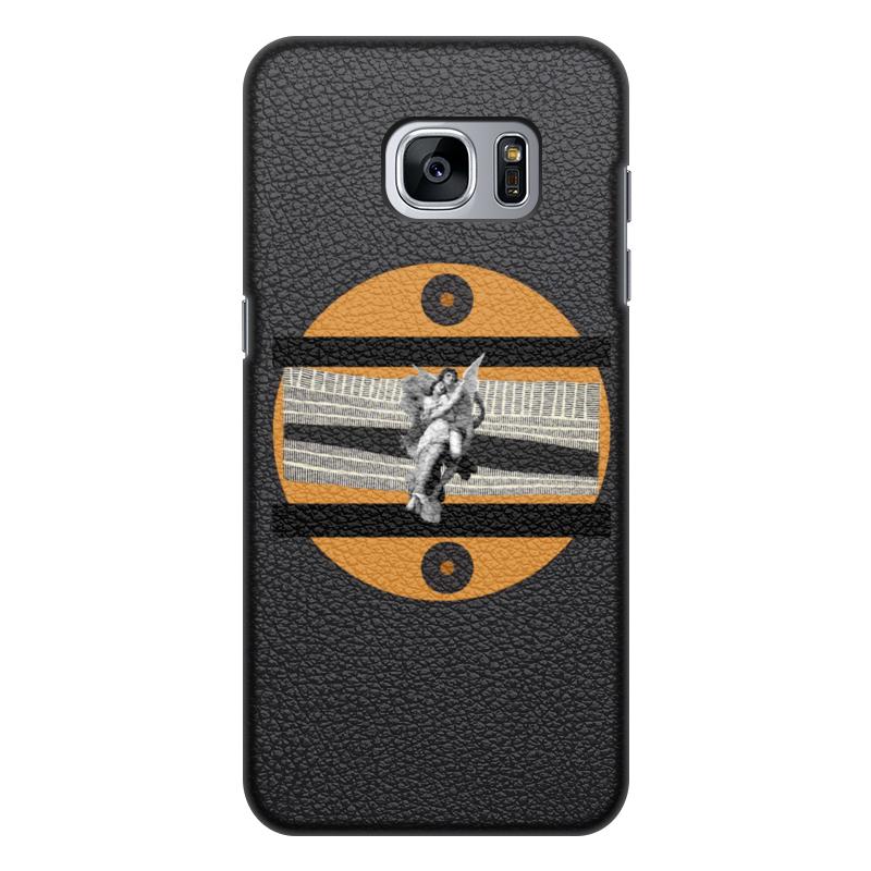 Printio Чехол для Samsung Galaxy S7 Edge, объёмная печать Любовь