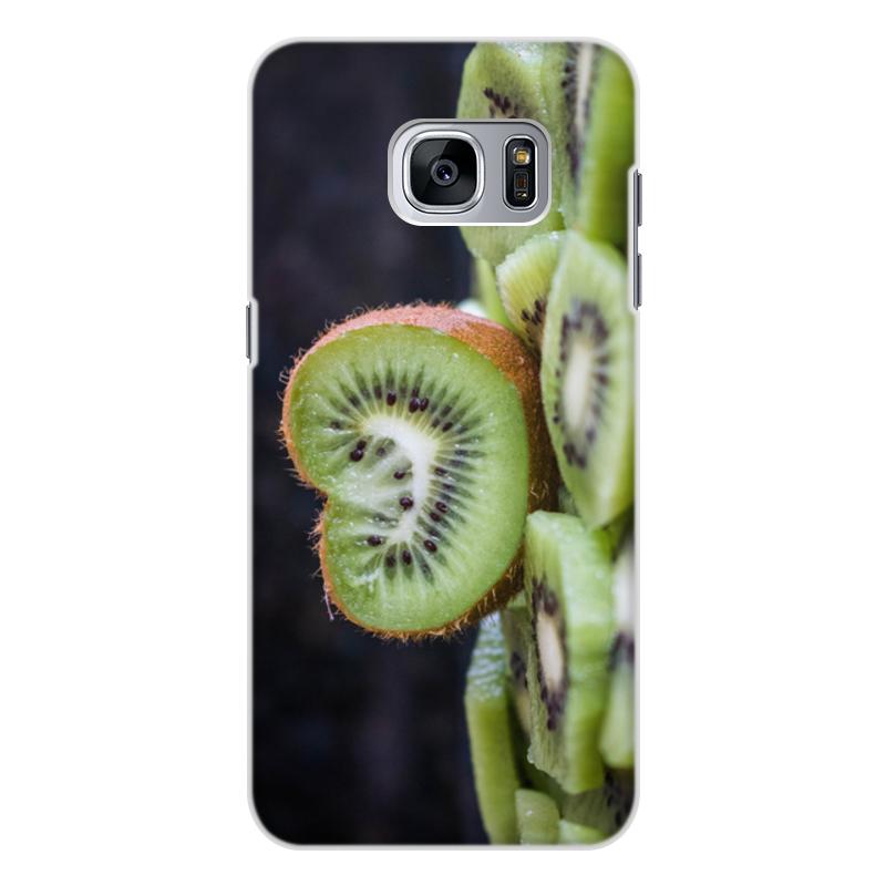 Printio Чехол для Samsung Galaxy S7 Edge, объёмная печать Лето!