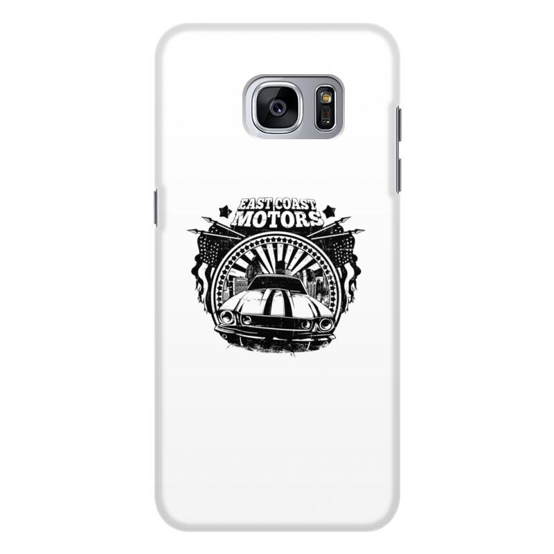 Printio Чехол для Samsung Galaxy S7 Edge, объёмная печать East coast motors printio чехол для iphone 6 объёмная печать east coast motors