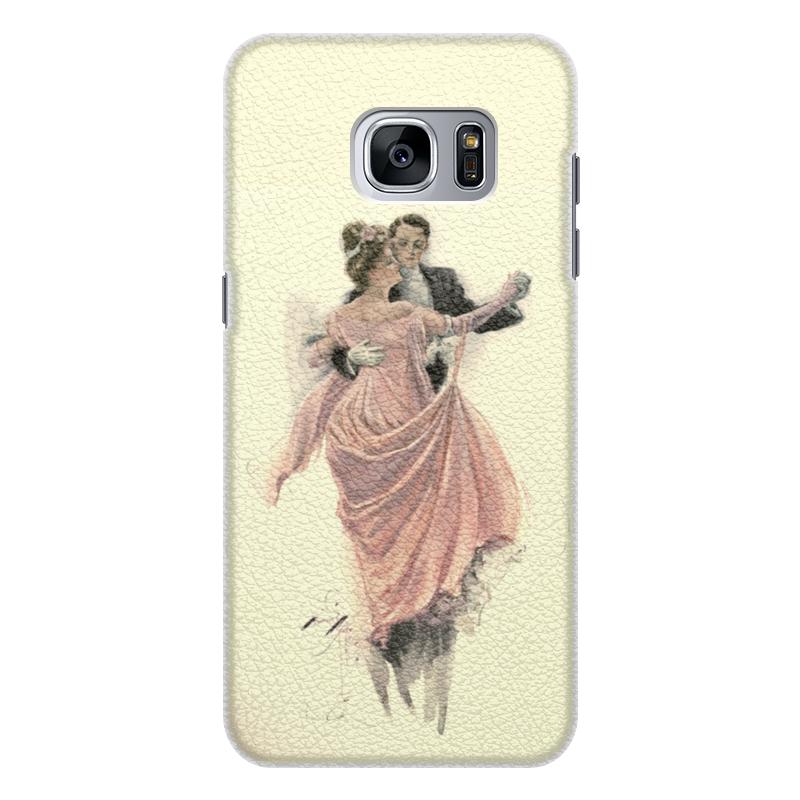 Printio Чехол для Samsung Galaxy S7 Edge, объёмная печать День святого валентина