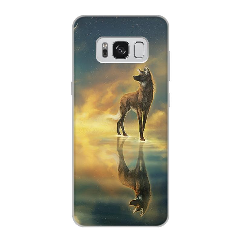Printio Чехол для Samsung Galaxy S8, объёмная печать Одежда для телефона с волком printio чехол для samsung galaxy s8 объёмная печать одежда для телефона с волком