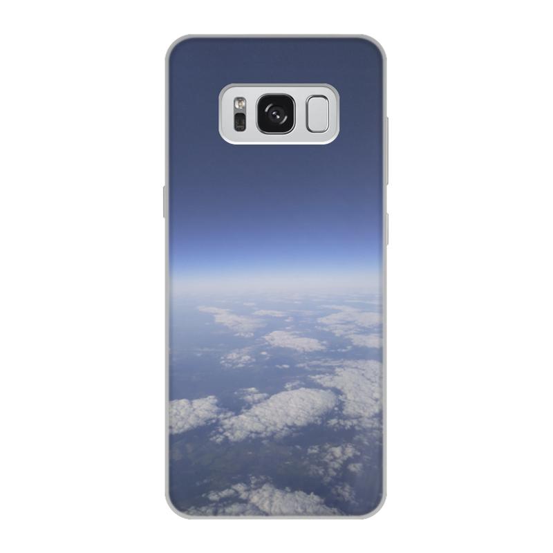 Printio Чехол для Samsung Galaxy S8, объёмная печать Путешествие на самолёте