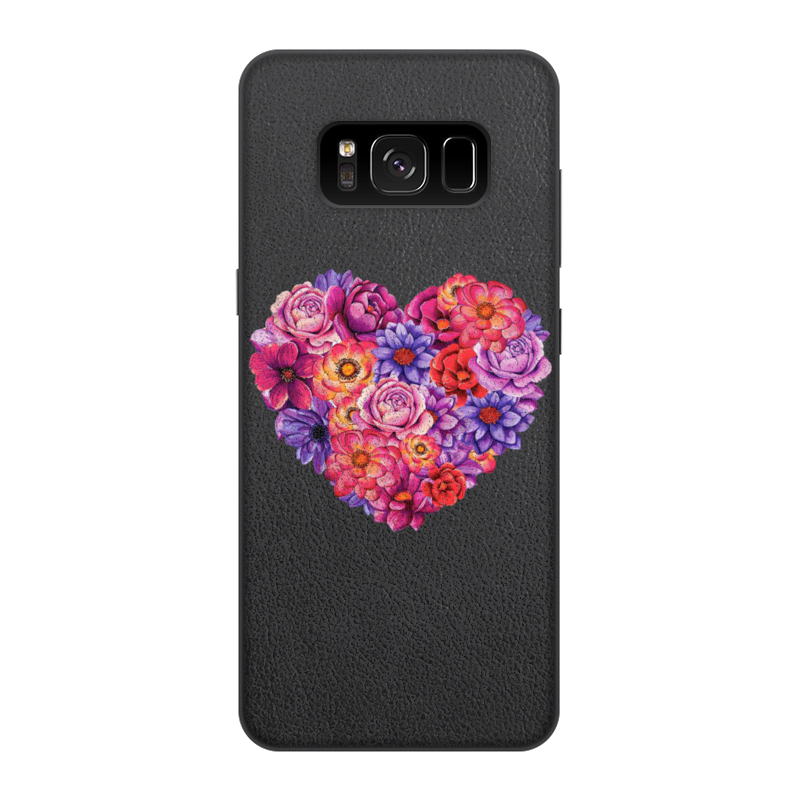 Фото - Printio Чехол для Samsung Galaxy S8, объёмная печать Сердце printio чехол для samsung galaxy s8 объёмная печать deus vult крестоносцы