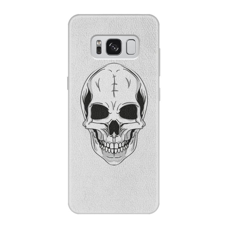 Printio Чехол для Samsung Galaxy S8, объёмная печать Череп