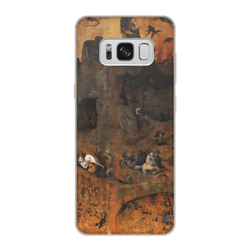 Фото - Printio Чехол для Samsung Galaxy S8, объёмная печать Ад (ад и потоп (створки алтаря иеронима босха)) printio чехол для samsung galaxy s8 plus объёмная печать ад ад и потоп створки алтаря иеронима босха