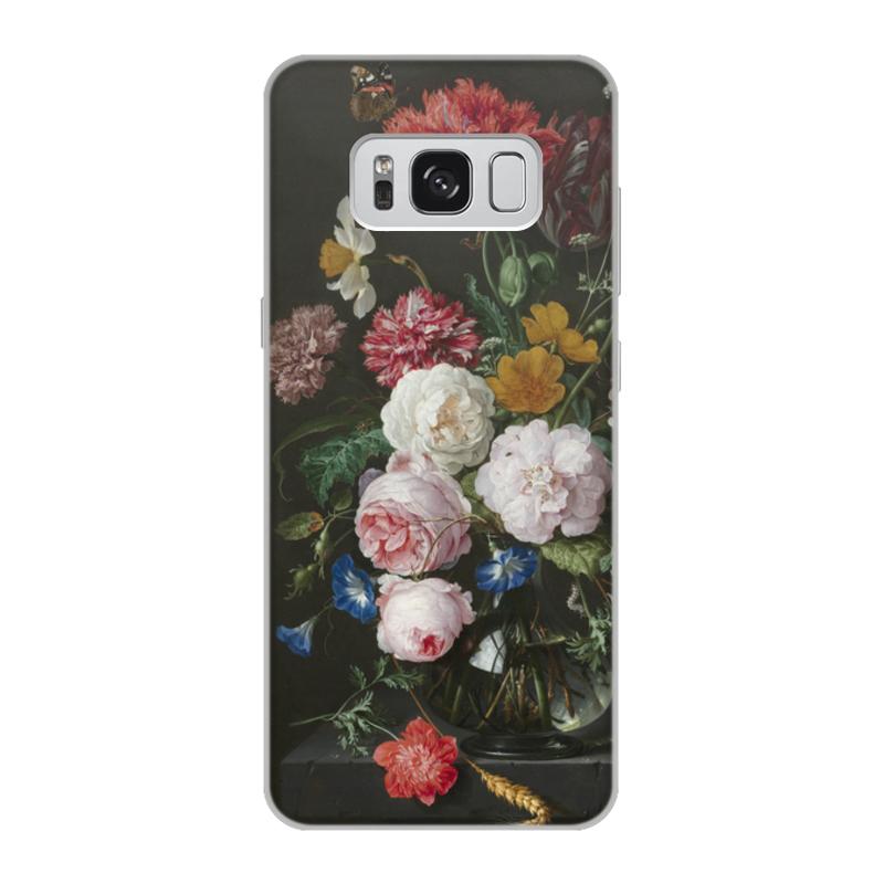 Printio Чехол для Samsung Galaxy S8, объёмная печать Цветочный букет в стеклянной вазе (ян де хем)