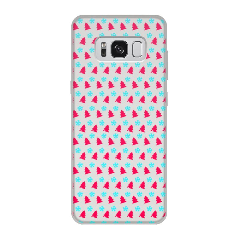Printio Чехол для Samsung Galaxy S8, объёмная печать С новым годом!