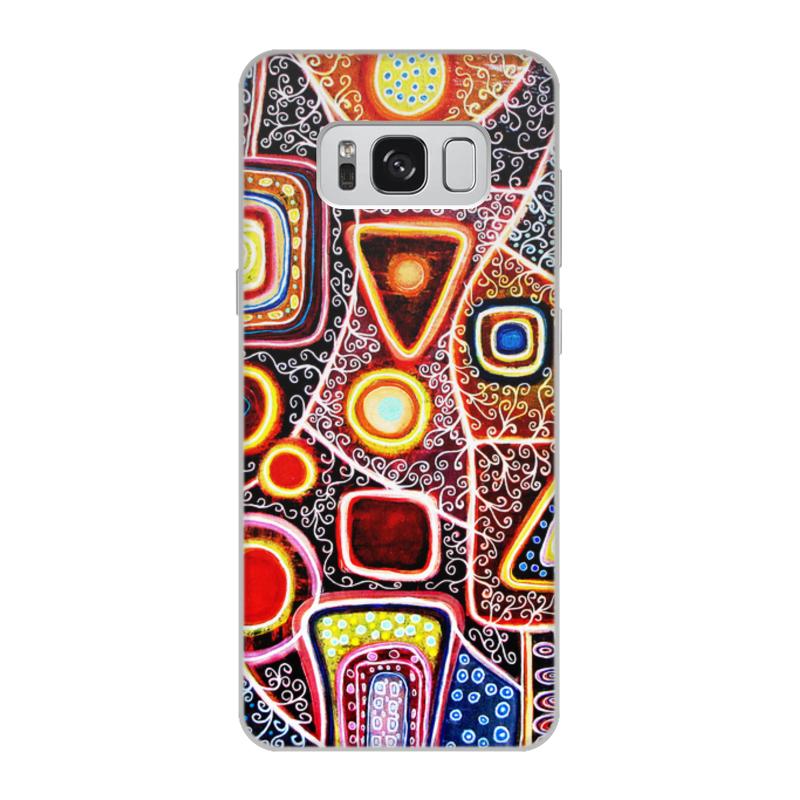 Printio Чехол для Samsung Galaxy S8, объёмная печать Гравитация
