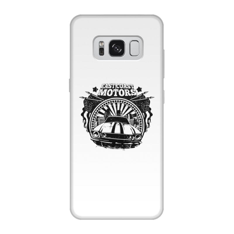 Printio Чехол для Samsung Galaxy S8, объёмная печать East coast motors printio чехол для iphone 6 объёмная печать east coast motors