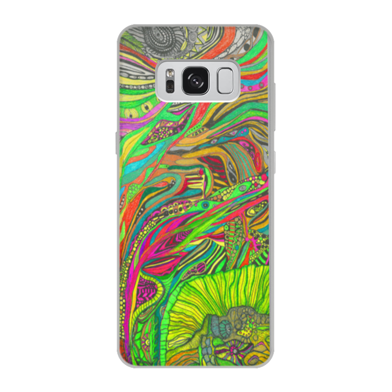 Printio Чехол для Samsung Galaxy S8, объёмная печать Ом дракон самсунг лимитед идитион