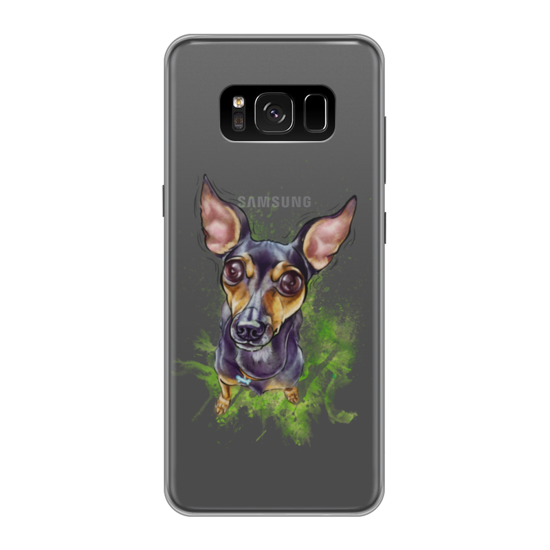 Фото - Printio Чехол для Samsung Galaxy S8, объёмная печать Той_терьер printio чехол для samsung galaxy s8 объёмная печать deus vult крестоносцы