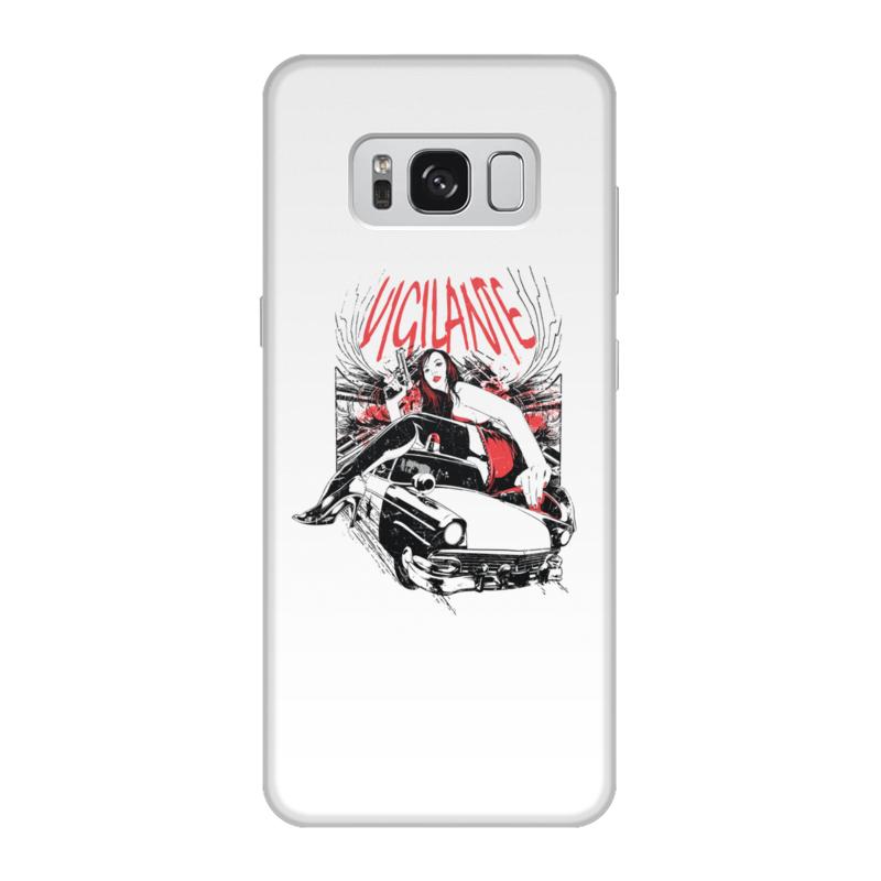 Фото - Printio Чехол для Samsung Galaxy S8, объёмная печать Vigilante printio чехол для samsung galaxy s8 plus объёмная печать vigilante