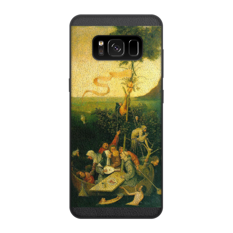 Фото - Printio Чехол для Samsung Galaxy S8, объёмная печать Корабль дураков (картина босха) printio чехол для samsung galaxy s8 plus объёмная печать ад ад и потоп створки алтаря иеронима босха