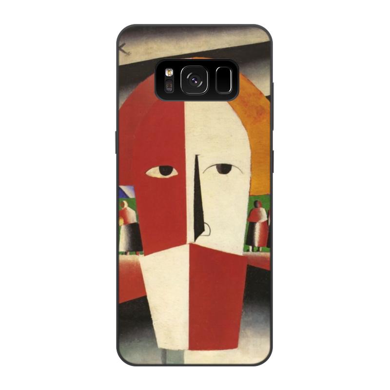 Printio Чехол для Samsung Galaxy S8, объёмная печать Голова крестьянина (казимир малевич)