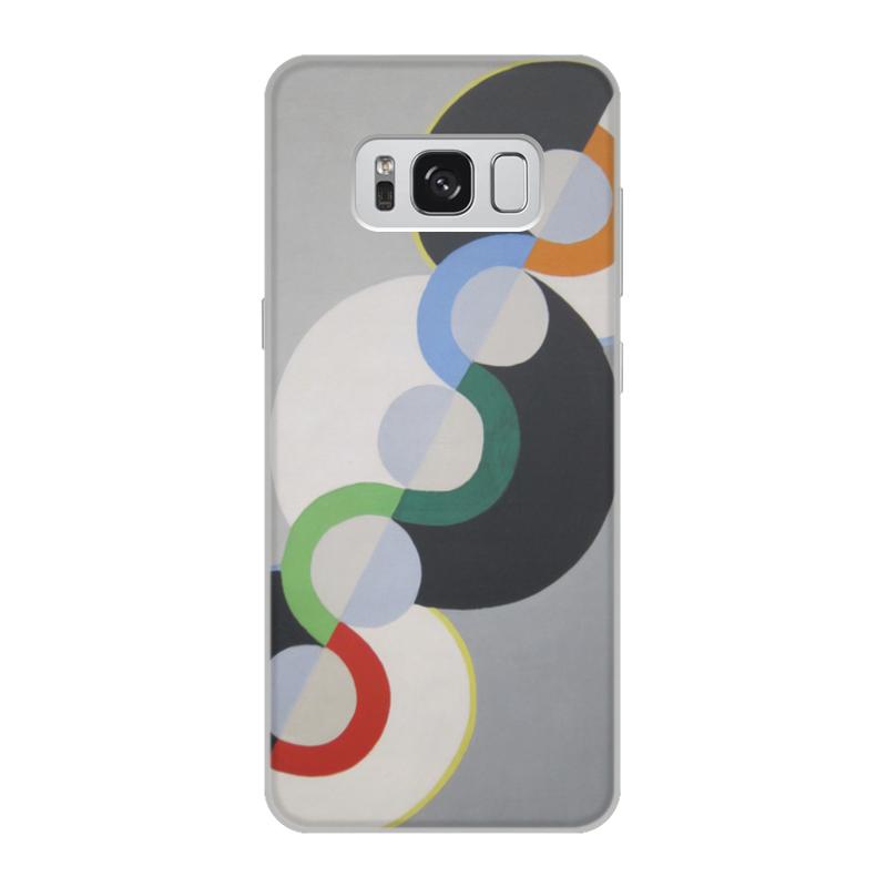 Фото - Printio Чехол для Samsung Galaxy S8, объёмная печать Бесконечный ритм (робер делоне) printio чехол для iphone x xs объёмная печать бесконечный ритм робер делоне