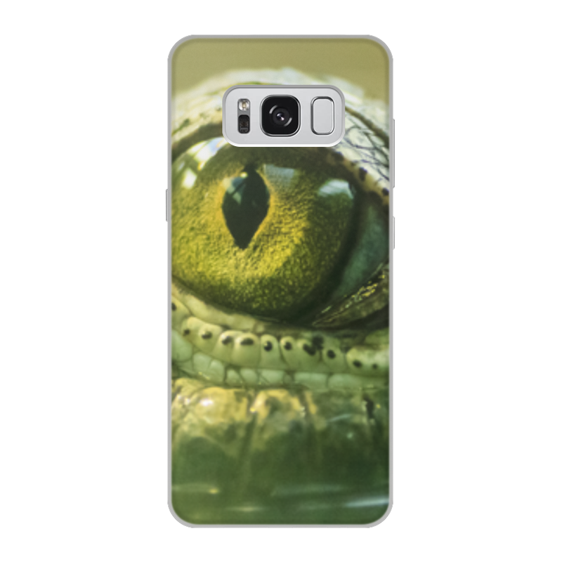 Printio Чехол для Samsung Galaxy S8, объёмная печать Рептилии