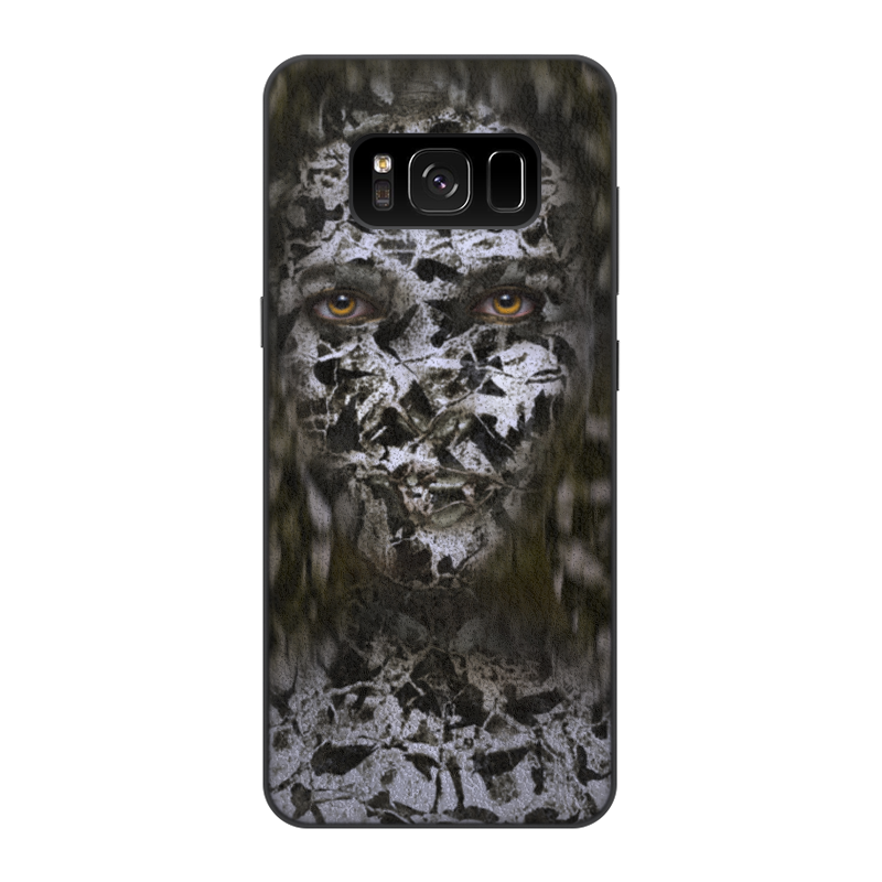 Printio Чехол для Samsung Galaxy S8, объёмная печать Одиночество printio чехол для samsung galaxy s8 объёмная печать одежда для телефона с волком