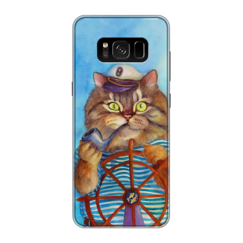 Фото - Printio Чехол для Samsung Galaxy S8, объёмная печать Котофей printio чехол для samsung galaxy s8 объёмная печать deus vult крестоносцы