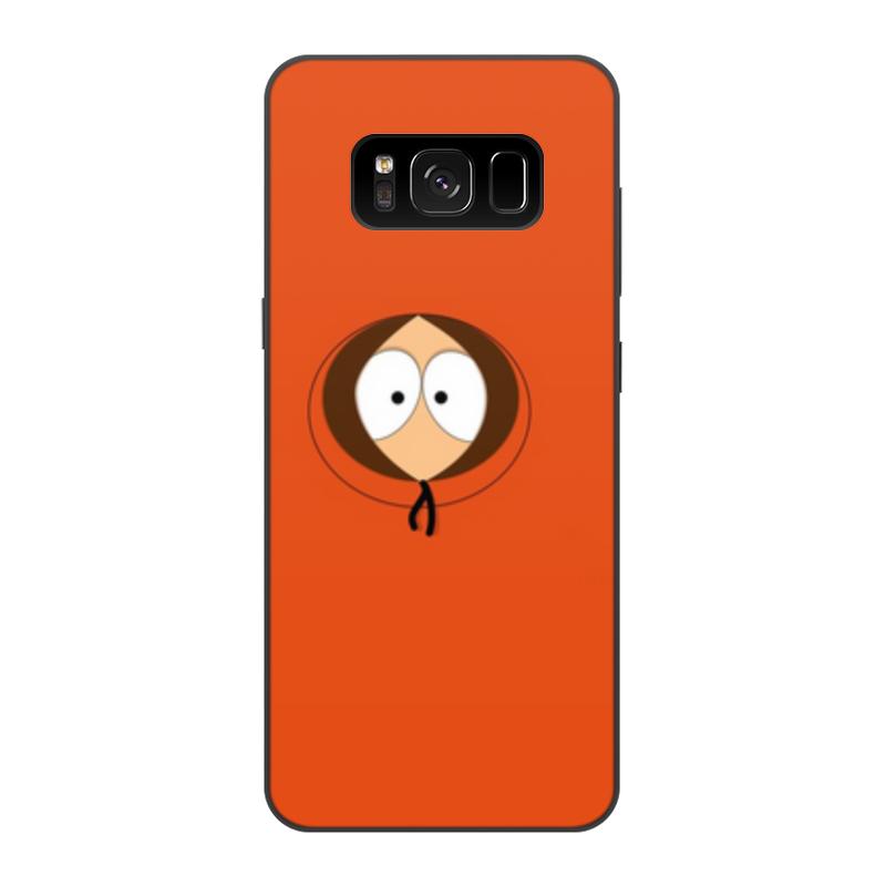 Printio Чехол для Samsung Galaxy S8, объёмная печать Кенни маккормик