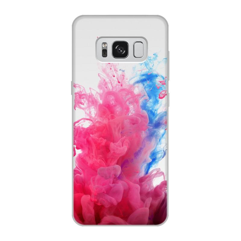 Printio Чехол для Samsung Galaxy S8, объёмная печать Дым дым printio чехол для samsung galaxy s8 plus объёмная печать пламя и дым