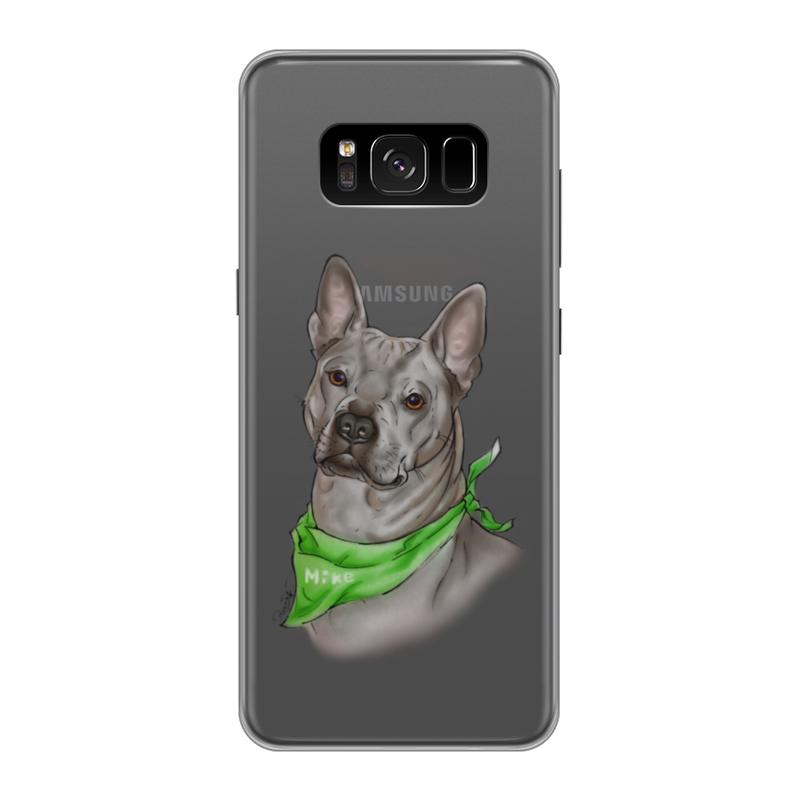 Printio Чехол для Samsung Galaxy S8, объёмная печать Риджбек printio чехол для samsung galaxy s8 объёмная печать одежда для телефона с волком