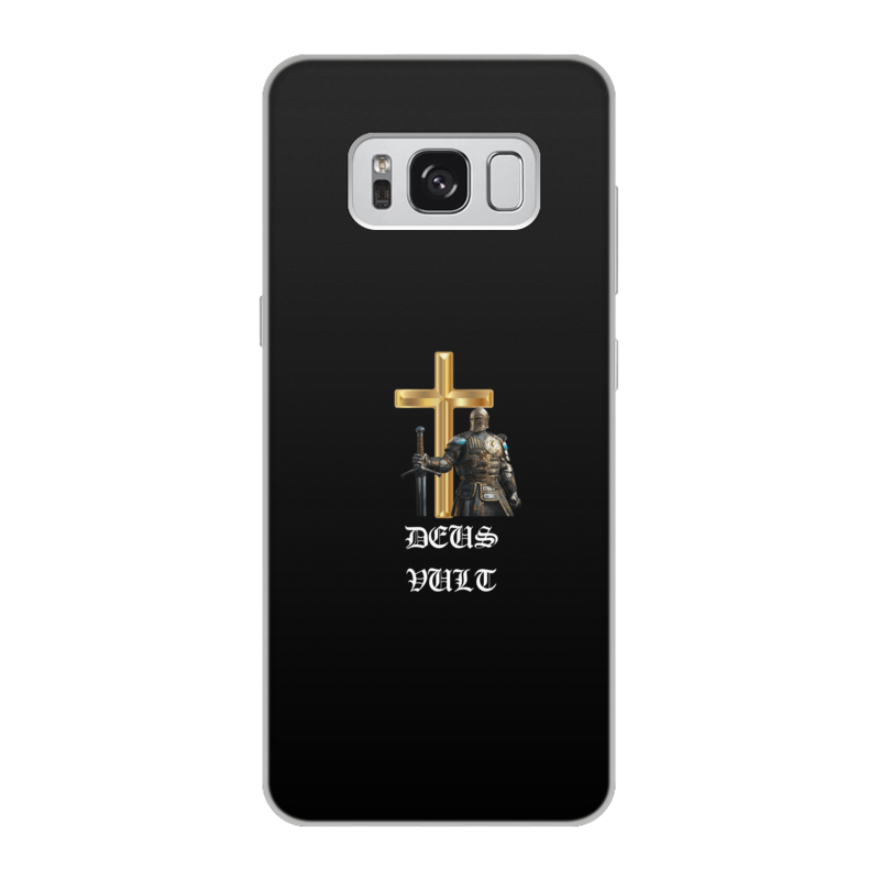 Фото - Printio Чехол для Samsung Galaxy S8, объёмная печать Deus vult. крестоносцы printio чехол для samsung galaxy s8 объёмная печать deus vult крестоносцы