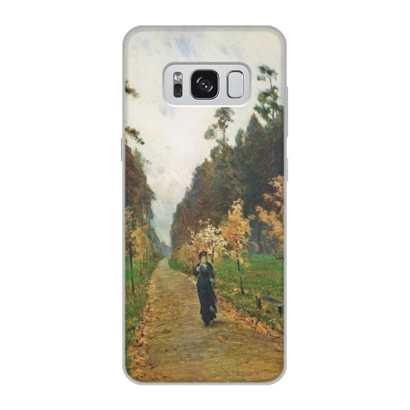 Printio Чехол для Samsung Galaxy S8, объёмная печать Осенний день. сокольники (левитан)