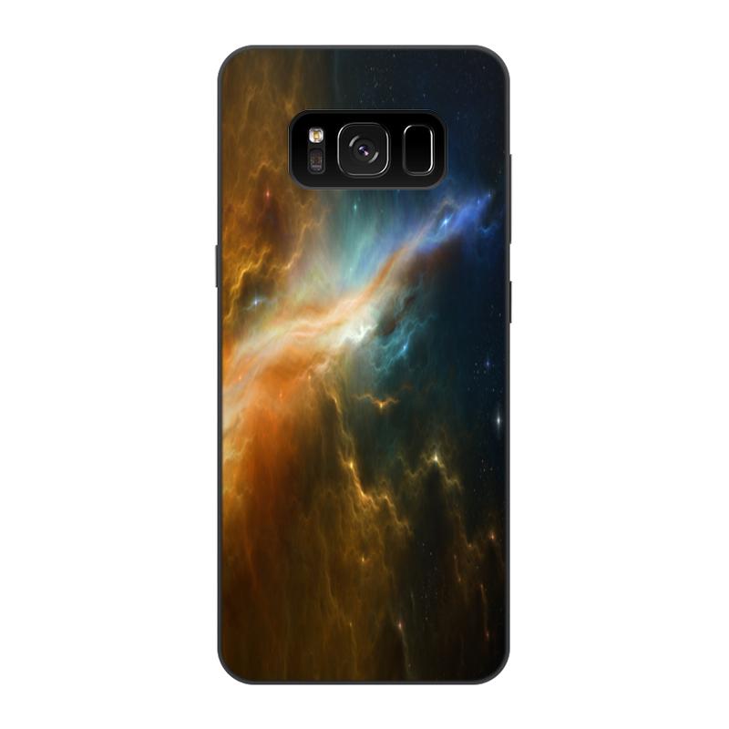 Фото - Printio Чехол для Samsung Galaxy S8, объёмная печать Абстракция космос printio чехол для samsung galaxy s8 plus объёмная печать vigilante