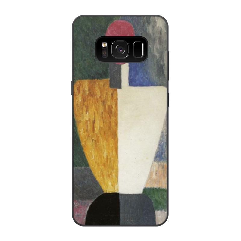 чехол для iphone 8 объёмная печать printio торс фигура с розовым лицом малевич Printio Чехол для Samsung Galaxy S8, объёмная печать Торс (фигура с розовым лицом) (малевич)