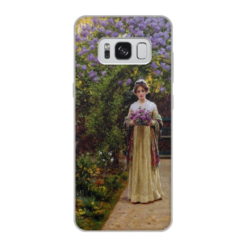 Фото - Printio Чехол для Samsung Galaxy S8, объёмная печать Сирень (эдмунд блэр лейтон) printio чехол для iphone 7 plus объёмная печать сирень эдмунд блэр лейтон