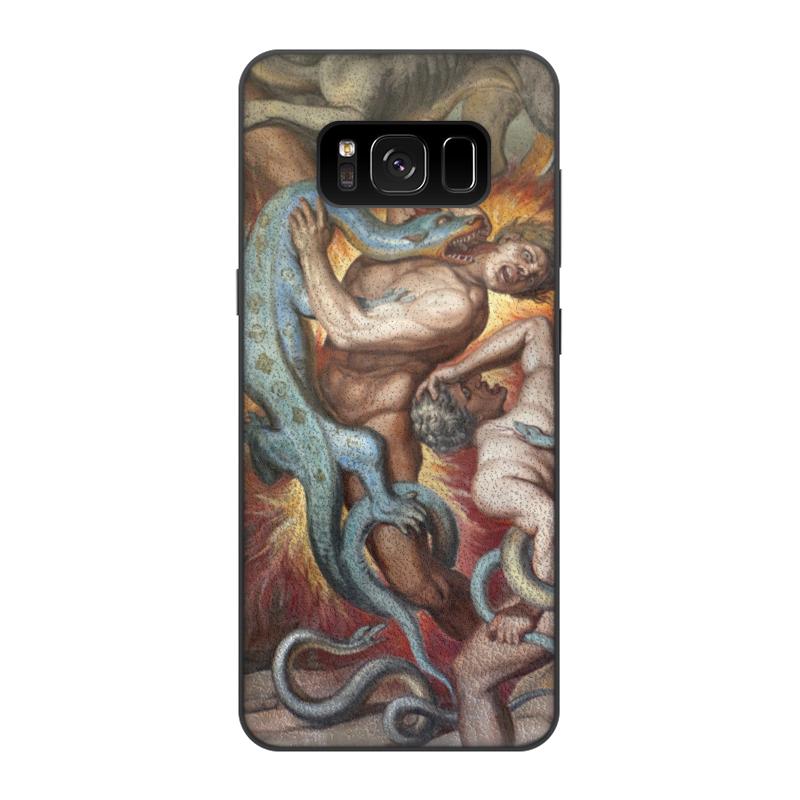 Фото - Printio Чехол для Samsung Galaxy S8, объёмная печать Ад (божественная комедия) printio чехол для samsung galaxy s8 plus объёмная печать ад ад и потоп створки алтаря иеронима босха