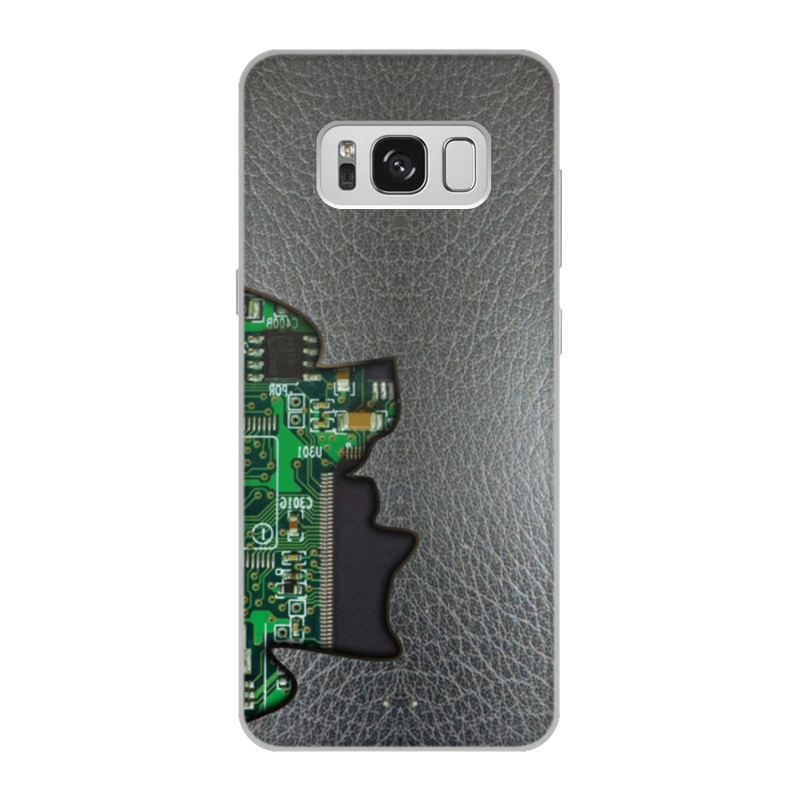 Printio Чехол для Samsung Galaxy S8, объёмная печать Внутренний мир телефона (микросхема). printio чехол для samsung galaxy s8 объёмная печать одежда для телефона с волком