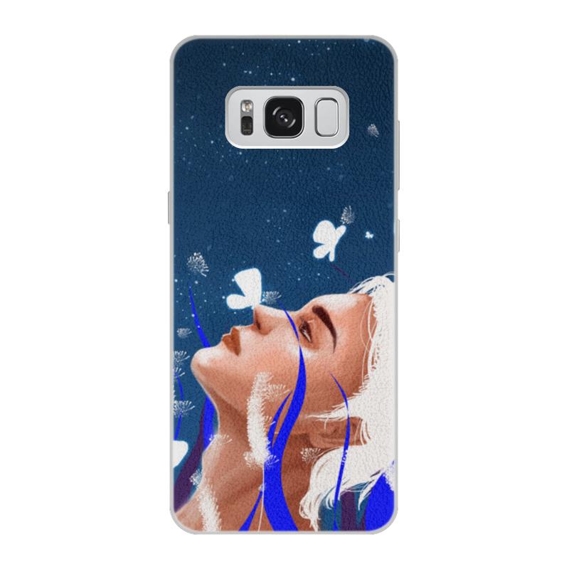 Фото - Printio Чехол для Samsung Galaxy S8, объёмная печать Light printio чехол для samsung galaxy s8 объёмная печать deus vult крестоносцы
