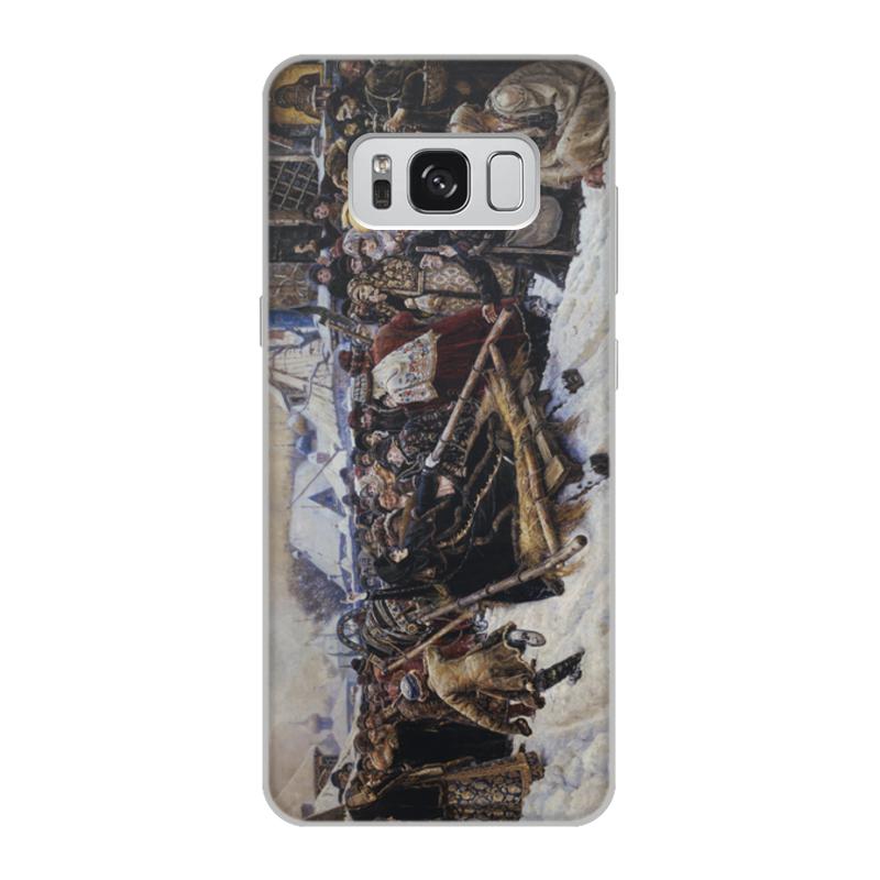 Printio Чехол для Samsung Galaxy S8, объёмная печать Боярыня морозова (картина в. и. сурикова)