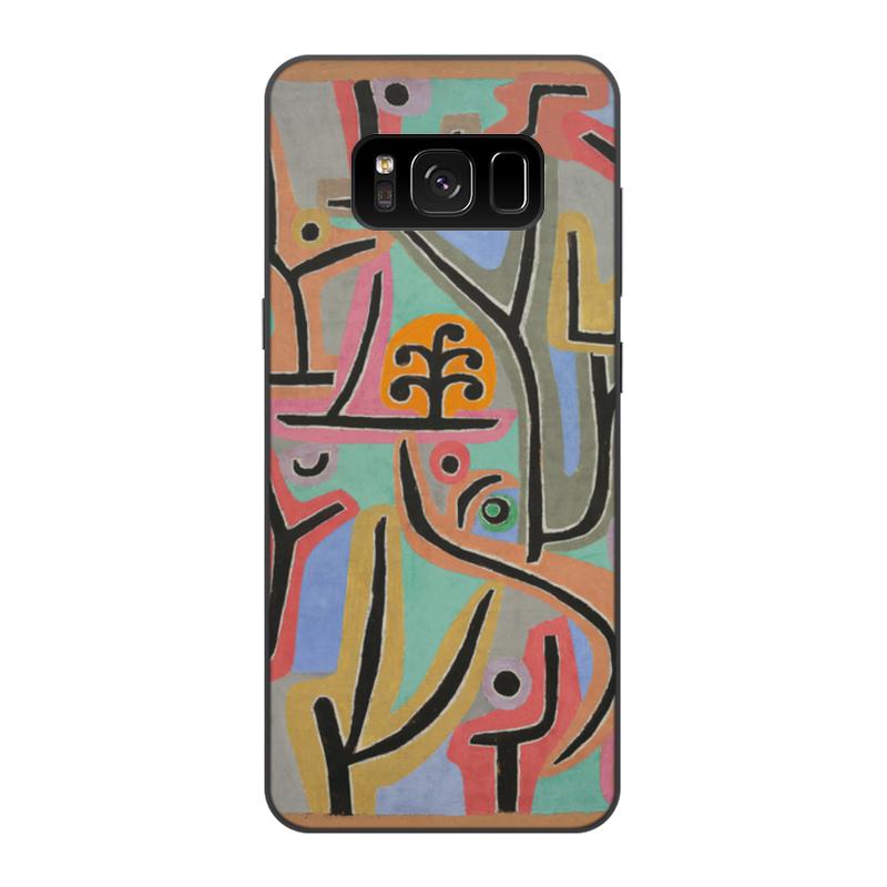 Фото - Printio Чехол для Samsung Galaxy S8, объёмная печать Парк возле лю (пауль клее) printio женские пижамные штаны парк возле лю пауль клее