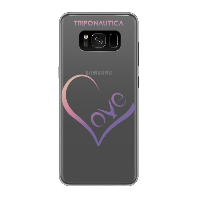 Printio Чехол для Samsung Galaxy S8, объёмная печать Lovesung pink