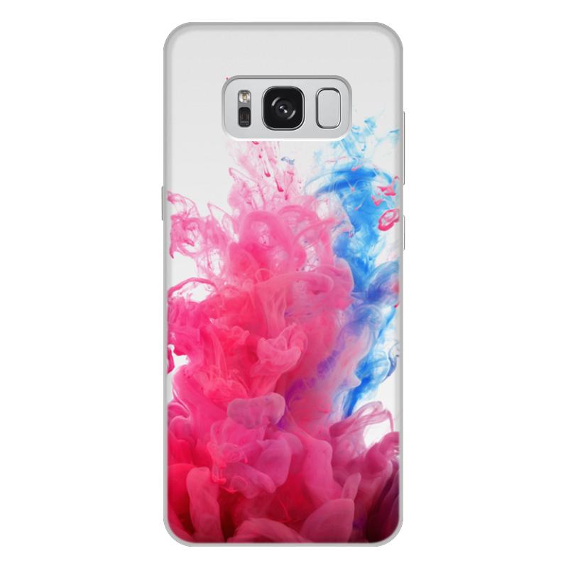Printio Чехол для Samsung Galaxy S8 Plus, объёмная печать Дым дым printio чехол для samsung galaxy s8 plus объёмная печать пламя и дым