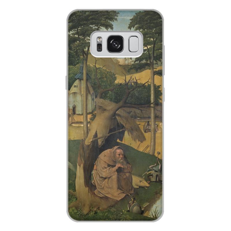 Фото - Printio Чехол для Samsung Galaxy S8 Plus, объёмная печать Искушение святого антония (картина босха) printio чехол для samsung galaxy s8 plus объёмная печать ад ад и потоп створки алтаря иеронима босха
