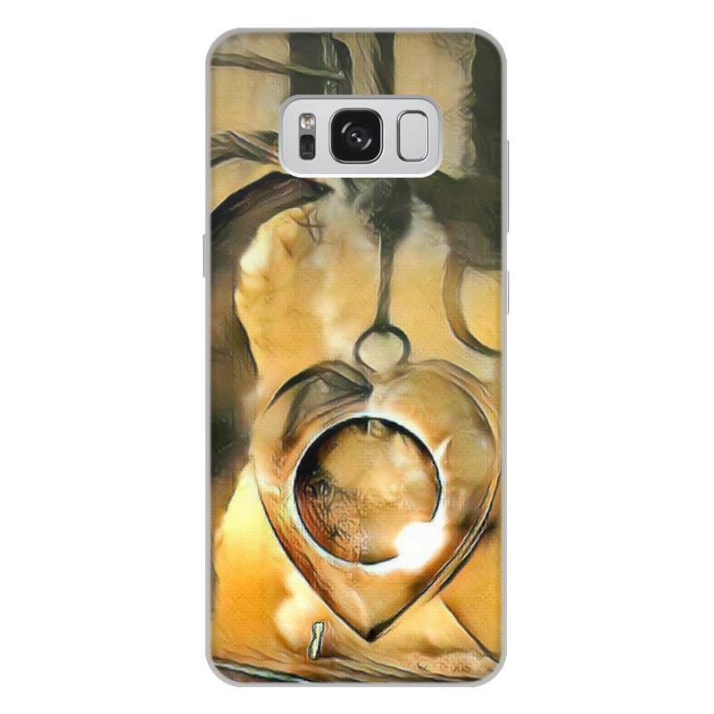 Фото - Printio Чехол для Samsung Galaxy S8 Plus, объёмная печать The moon in your heart printio чехол для samsung galaxy s8 plus объёмная печать vigilante