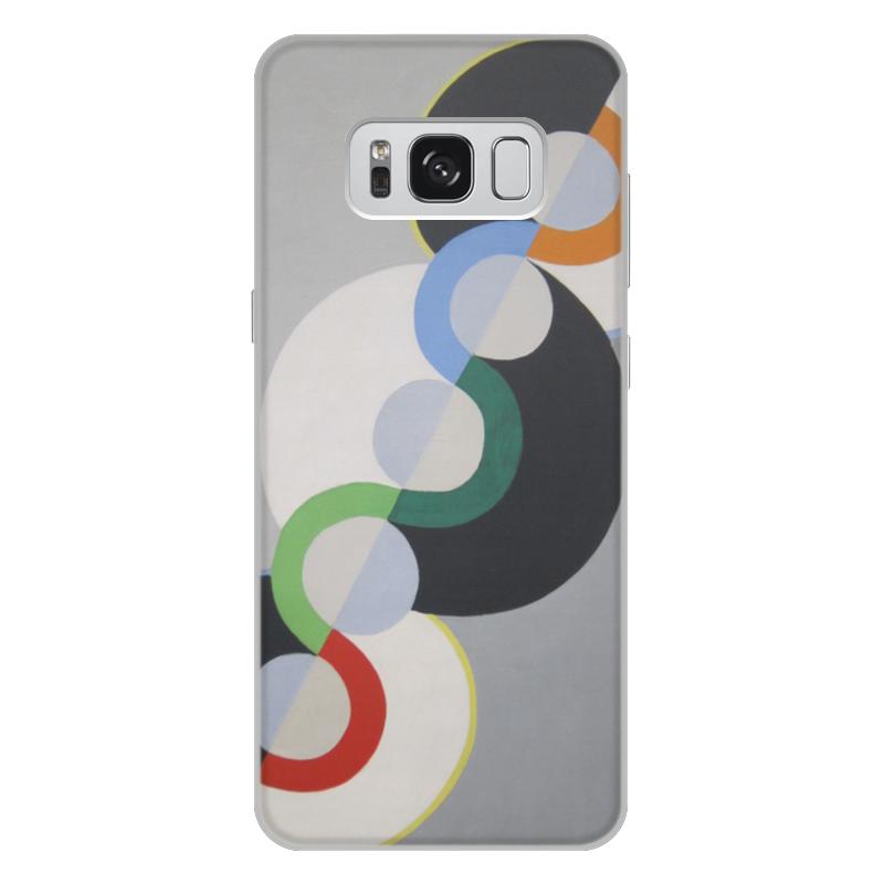 Фото - Printio Чехол для Samsung Galaxy S8 Plus, объёмная печать Бесконечный ритм (робер делоне) printio чехол для iphone x xs объёмная печать бесконечный ритм робер делоне