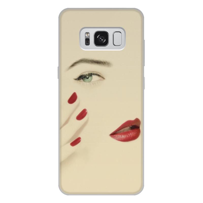 Printio Чехол для Samsung Galaxy S8 Plus, объёмная печать Подруге