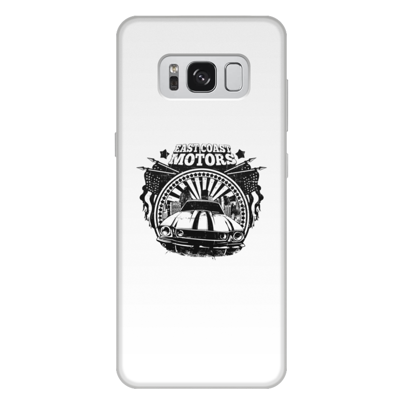 Printio Чехол для Samsung Galaxy S8 Plus, объёмная печать East coast motors printio чехол для iphone 6 объёмная печать east coast motors