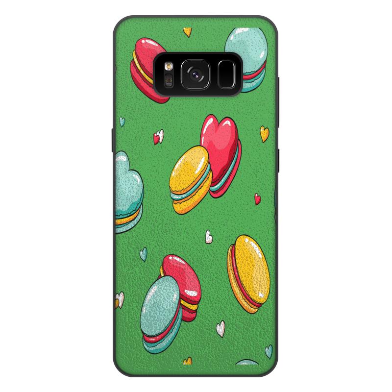 Printio Чехол для Samsung Galaxy S8 Plus, объёмная печать Печеньки. printio чехол для samsung galaxy s8 объёмная печать одежда для телефона с волком