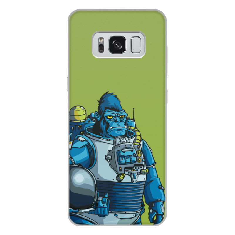 Фото - Printio Чехол для Samsung Galaxy S8 Plus, объёмная печать Космическая горилла printio чехол для samsung galaxy s8 plus объёмная печать vigilante