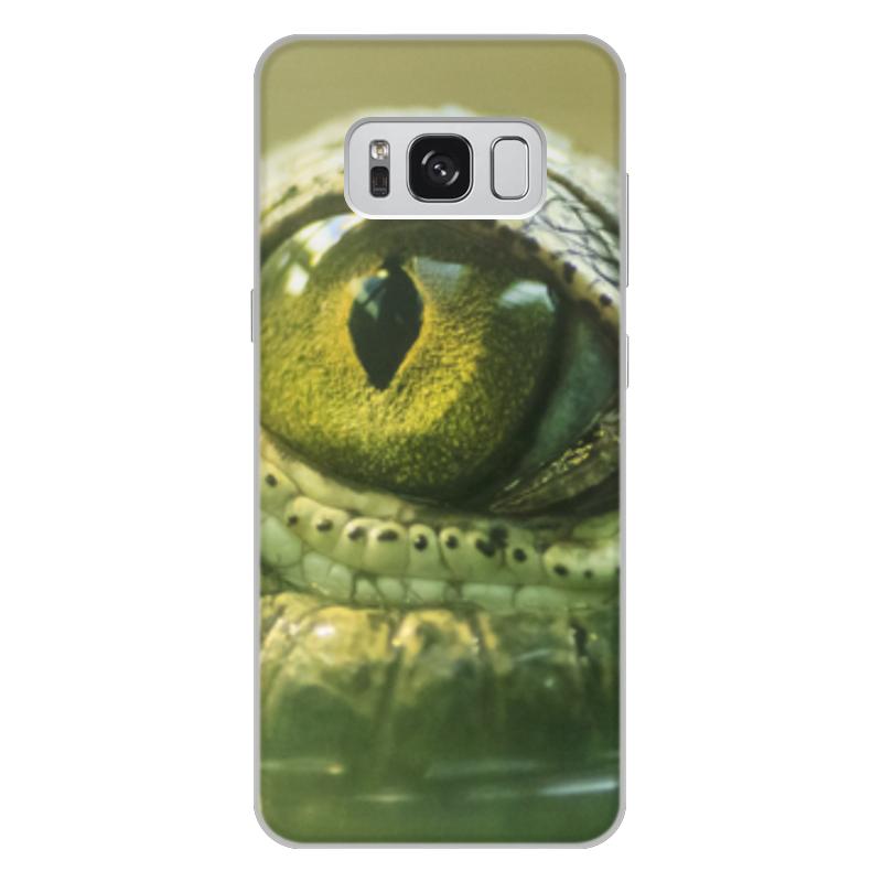Printio Чехол для Samsung Galaxy S8 Plus, объёмная печать Рептилии