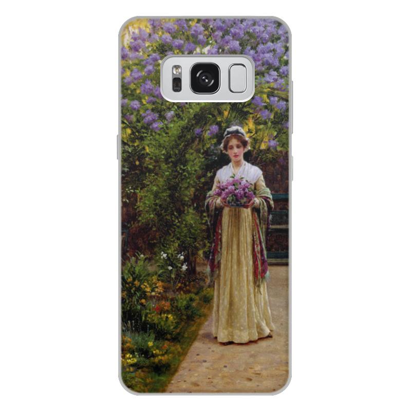 Фото - Printio Чехол для Samsung Galaxy S8 Plus, объёмная печать Сирень (эдмунд блэр лейтон) printio чехол для iphone 7 plus объёмная печать сирень эдмунд блэр лейтон