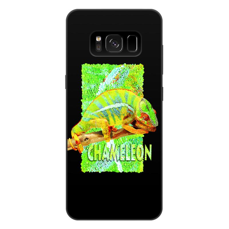 Фото - Printio Чехол для Samsung Galaxy S8 Plus, объёмная печать Хамелеон. printio чехол для samsung galaxy s8 plus объёмная печать vigilante