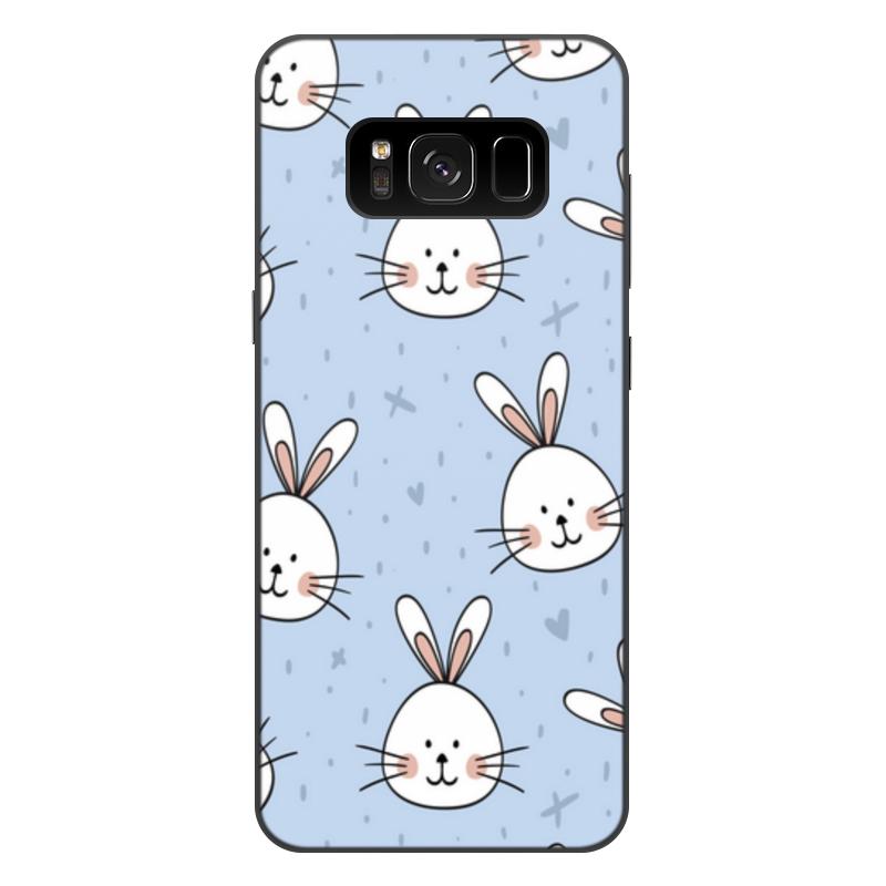 Фото - Printio Чехол для Samsung Galaxy S8 Plus, объёмная печать Милый кролик printio чехол для samsung galaxy s8 plus объёмная печать vigilante