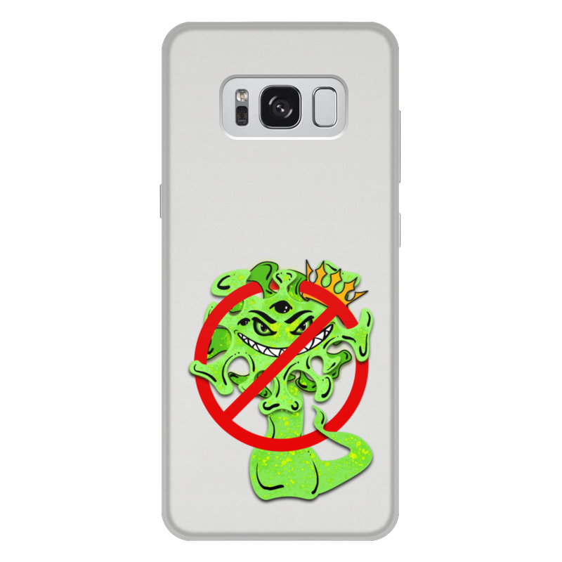 Printio Чехол для Samsung Galaxy S8 Plus, объёмная печать Стоп вирус printio чехол для iphone 6 plus объёмная печать стоп вирус
